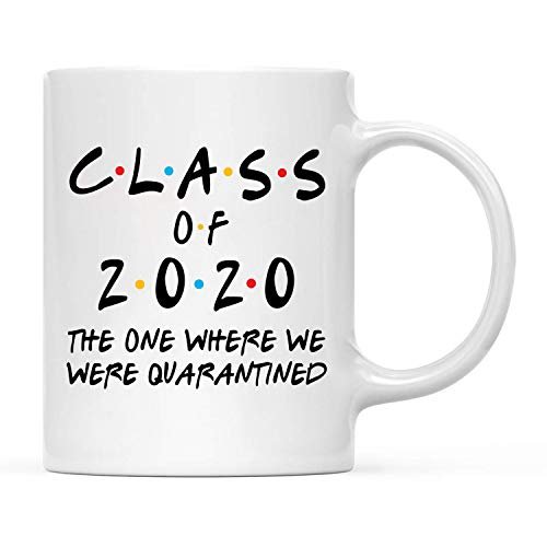 NeeNoNex Class of 2020 The One Where We Were Quarantined Coffee Mugs (Quarantined_Class)