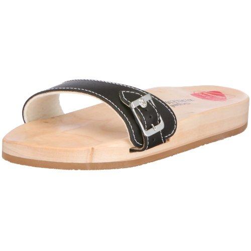 Berkemann Original Sandale, Unisex-Erwachsene Pantoletten, Schwarz (schwarz 900), 39.5 EU (6 UK)