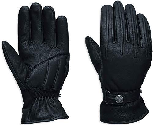 HARLEY-DAVIDSON Motorrad Damen Handschuhe aus Ziegenleder Ergonomischer Schnitt, L