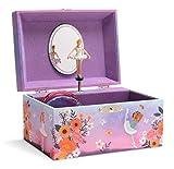 Jewelkeeper - Caja de Música para Almacenamiento de Joyas para Niñas, Diseño de Bailarina Hermosa - Melodía del Lago de los Cisnes