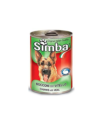 MONGE Simba Simba Bocconi avec Veau 24 x 415 GR