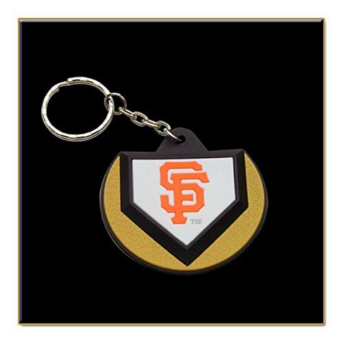 Schutt Two San Francisco Giants MLB Home Plate Keychains