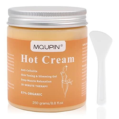 MQUPIN Cellulite Cream - 250g Body Slimming Firming Cream Fat Burner Hot...
