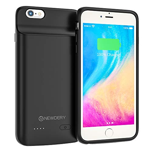 NEWDERY Battery Case for iPhone 6 Plus $7.84 (72% Off)