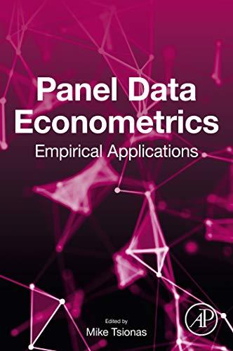 Panel Data Econometrics: Empirical Applications (English Edition)