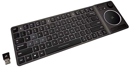 【Amazon.co.jp 限定】Corsair K83 Wireless Entertainment Keyboard White LED 英語配列 キーボード 有線/...