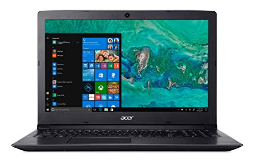 Acer Aspire 3 | A315-53-58EJ - Ordenador portátil de 15.6' HD CineCrystal LED LCD (Intel Core i5-8250U, 8GB de RAM, 1TB HDD, Intel UHD Graphics 620, Windows 10 Home) Negro - Teclado QWERY Español
