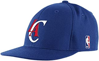 Los Angeles Clippers Flat Brim Fitted Adidas Hat - Size 7 - TQ44K