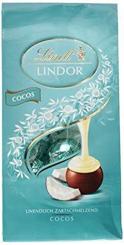 Lindt Lindor Kokosnuss-Milchschokoladenkugeln (ca. 10 Kugeln), 136 g