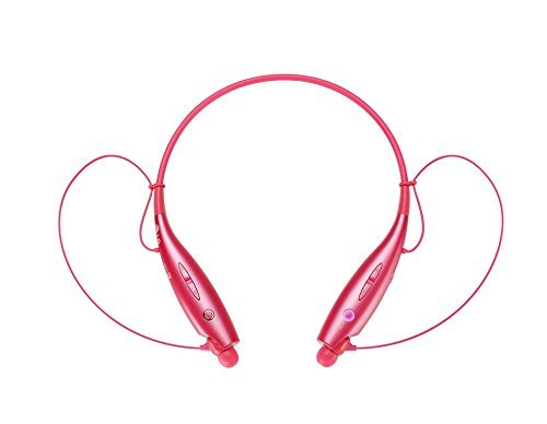 LG Electronics Tone+ HBS-730 Bluetooth Headset - Retail Packaging - Pink