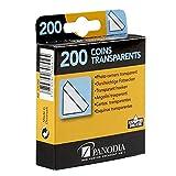 Panodia - Angolini Adesivi per fotografie, Colore: Trasparente (Confezione da 200)