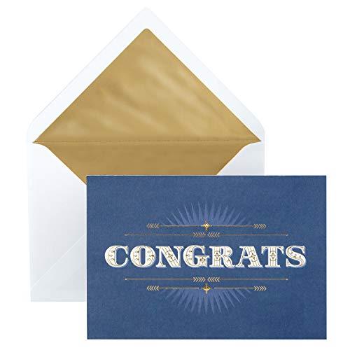 Hallmark Signature Congratulations Card or Graduation Card (Congrats)