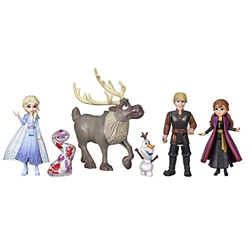 5-Dolls Disney Frozen Adventure Toy Collection $9.50 + Free Shipping w/ Prime or on orders $25+