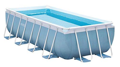 PISCINA DESMONTABLE INTEX PRISMA FRAME | Celeste, la piscina con depuradora