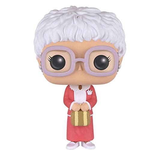 Gogowin Pop Television : The Golden Girls - Sophia 3.75inch Vinyl Gift for TV Fans (Without Box) Chibi Figure