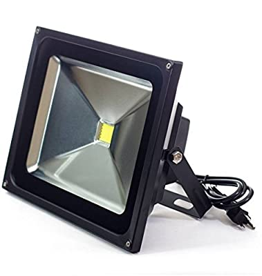 HouLight Super Bright LED Flood Light, IP65-Waterproof, with US plug,outdoor security light