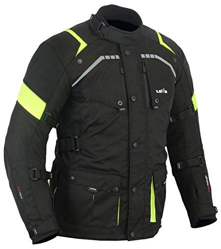 LOVO Chaqueta 3/4 para moto (Hombre) (M)