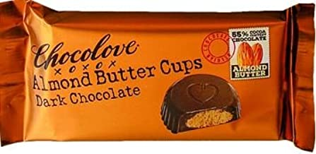 product image for Chocolove, Almond Butter Cups, Dark Chocolate, 1.2 oz, (144 count)