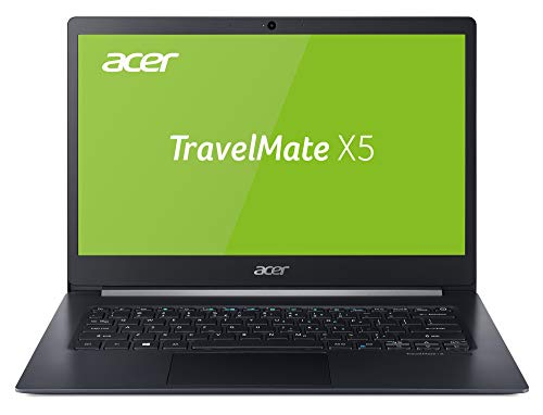 Acer TravelMate X5 TMX514-51T-51T5 35,6 cm (14 Zoll Multi-Touch Full-HD IPS) Notebook (Intel Core i5-8265U, 8GB RAM, 256GB PCIe SSD, Intel UHD, Win 10 Pro) anthrazit