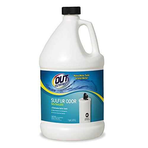 Filter-Mate Odor Neutralizer, Remove Sulfur, Rotten Egg Smell in Your Water, 1 Gallon