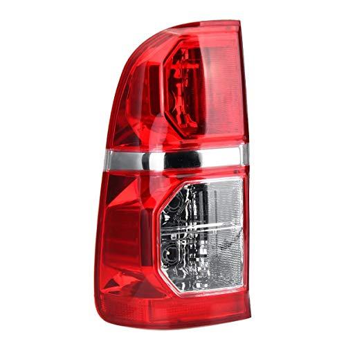 Wooya Freno De La Luz Trasera Izquierda/Derecha del Coche Lámpara Rojo con Arnés para Toyota Hilux 2005-2015 - Izquierda
