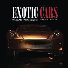 Exotic Cars Mini Wall Calendar 2018: 16 Month Calendar