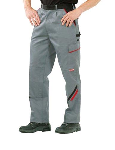 PLANAM Bundhose HIGHLINE, Farbe schiefer/schwarz/rot, Größe 54