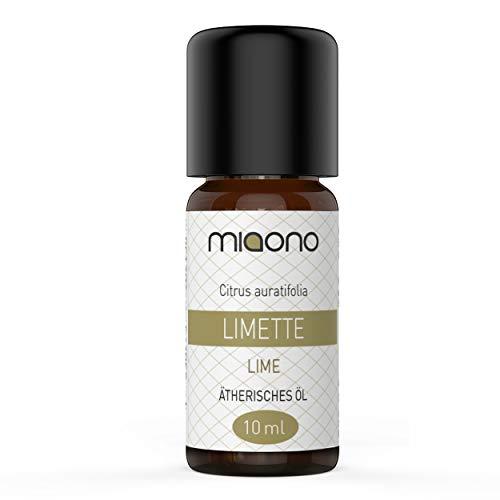Limette Öl - 100% naturreines, ätherisches Öl (10ml) von miaono (Glasflasche)