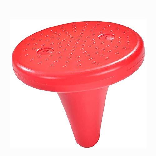 Jolly Balance Teller, Kindergarten Balance Board Kind Fitness Sense-Trainingsgeräte Lernspielzeug Rund Spitze (One Foot Hocker), Gelb (Color : D)