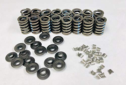 Elgin Z28 Style Valve Springs, Retainers & Locks sb Chevy 400 350 327 305 283 (Spring Kits)