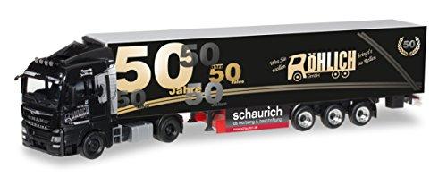 Herpa 305389 - TGX XLX Euro 6 Man semirimorchio frigo 50 Anni Spedition Röhlich