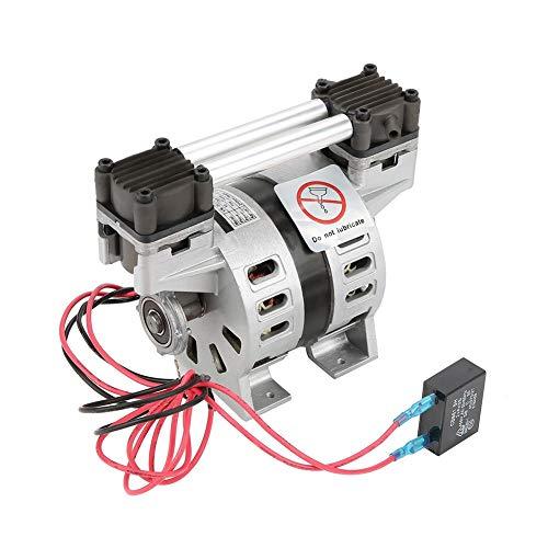 Vacuümpomp, 220 V 75 W VN-30 mini olievrije vacuümpomp ingebouwde geluiddemper 16 L/min luchtstroom voor luchtcompressor