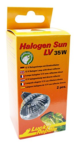 Lucky Reptile HSL-35 Halogen Sun LV 35 W Doppelpackung
