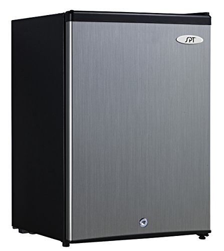 SPT UF-214SS: 2.1 cu.ft. Upright Freezer in Stainless Steel - ENERGY...