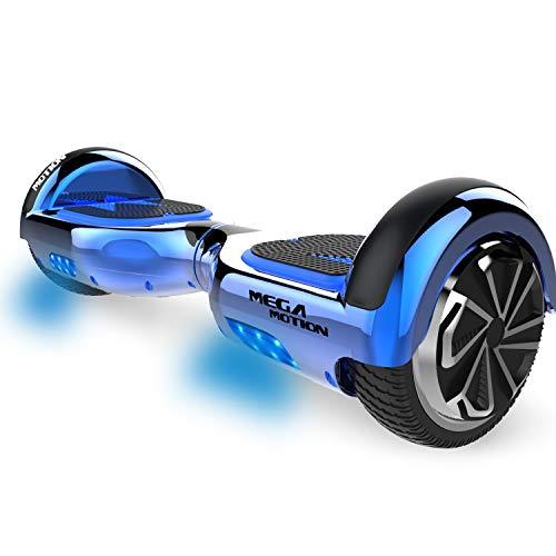 """MARKBOARD Hoverboards Scooter autoequilibrado de 6.5""""Hoverboard autoequilibrado de Dos Ruedas con Altavoz Bluetooth y Luces LED Scooter eléctrico para niños y Adultos, Regalo"""