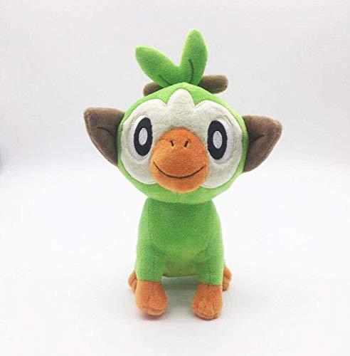 OELPAN Spielzeug 20 cm 30 cm Swiewing Gosanke Grooke Groey Scorbunny Spielzeug Spielzeug AFFE Kaninchen Cartoon Puppen Für Kinder Kinder Geschenk (Farbe: scorbunny, Größe: 30 cm)