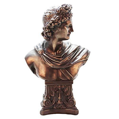 GRX-ART Statue/Skulptur of David, Bronzefigur Skulptur, Wohnzimmer Harz Handwerk, Dekorative Figuren, Geeignet Für Wohnzimmer, Schlafzimmer, Studie, Geschenk