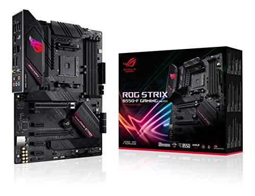 ASUS ROG Strix B550-F Gaming (WiFi 6) AMD AM4 Zen 3 Ryzen 5000 & 3rd Gen Ryzen ATX Gaming Motherboard