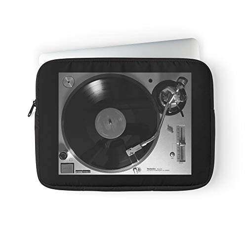 Turntable 1200 Sound 1200Gr Sl Technics Music Vintage Retro Laptop Sleeve Case Cover Handbag for MacBook Pro/MacBook Air/Asus/Dell/Lenovo/Hp/Samsung/Sony.Etc
