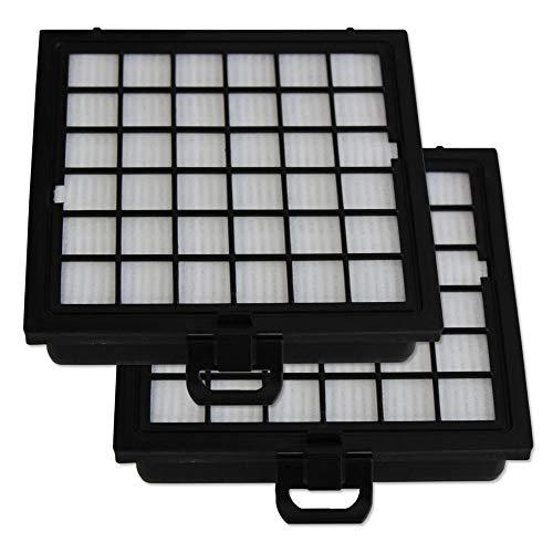 PakTrade 2 HEPA Filter geeignet Für Bosch BBZ151HF, BSG81466, BSG8 1466 - BSG8 Serie BBZ 151