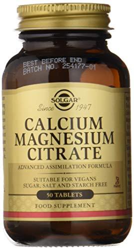 Solgar Calcio/Magnesio Citrato Comprimidos - Envase de 50