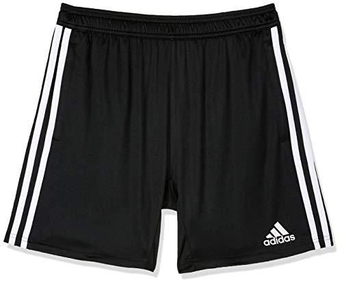 adidas Tiro 19 S Pantalón Corto,  Unisex niños,  Negro (Black/White),  1314