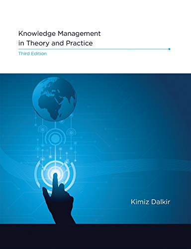 Knowledge Management in Theory and Practice, third edition (The MIT Press)