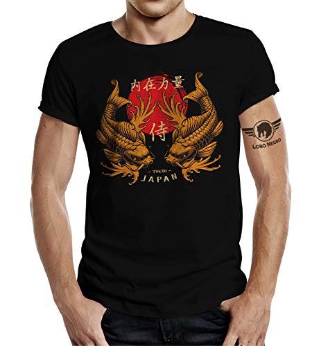 T-Shirt für Japan Samurai Tokio Kampfsport Fans XL