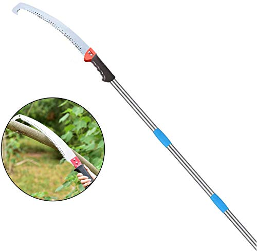 Pole Saw Telescoping 10 FT pole Pruner Adjustable Tree Pruning Tool For Fruit Picking Weeding Branch Pruning Garden Shears