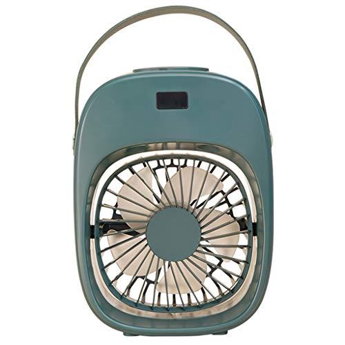 Mini Ventilador de refrigeración humidificador portátil Ventilador silencioso USB de 3 velocidades Aire Acondicionado de refrigeración por Agua de 1600 mAh
