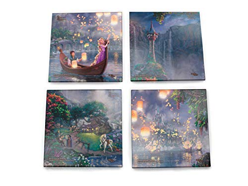 Tangled coaster set