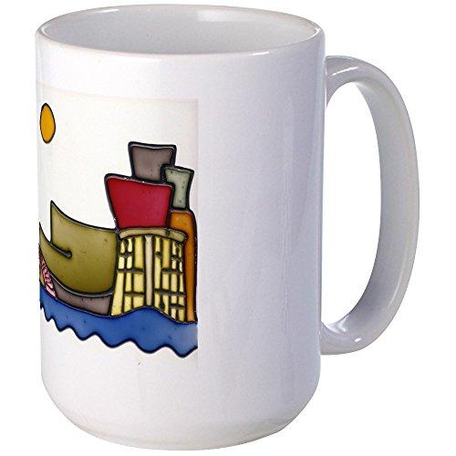 CafePress - Guggenheim große Tasse – Kaffeetasse, groß 425 ml, weiße Kaffeetasse
