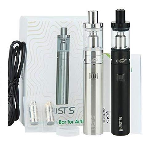 Sigaretta Elettronica Eleaf Ijust S kit 3000mAh 4ML 24mm Nero Silver ORIGINALE (NO NICOTINA) (NERO)