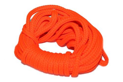 dalipo 33002 - Kordeln, Schnur 4mm, neon-orange